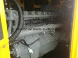 com o gerador Diesel silencioso do motor 750kVA de Perkins elétrico