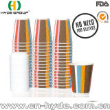 WegwerfKaffeetasse-Papier der kräuselung-12oz (12oz)