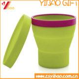 Циновка чашки силикона круглой формы (YB-LY-CM-01)