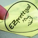 Todos os tipos de etiquetas impressas a ronda personalizada
