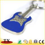 Reizend bunte Metallzink-Legierung mit Gitarren-Form-Schlüssel-Halter und Schlüsselkette