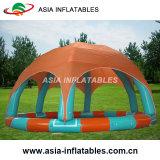 Бассеин высокого качества прочный раздувной с шатром для сбывания