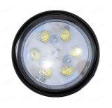 4 lumière agricole lumineuse de l'utilisation DEL de machines de pouvoir de pouce 18W