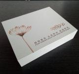 Доски логоса высокого качества косметики картона изготовленный на заказ серой твердые упаковывая коробку