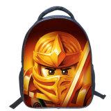 13 pulgadas - las carteras coloridas de los cabritos del morral de la historieta de Lego de la alta calidad refrescan el bolso de escuela del muchacho del estudiante del niño