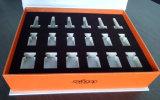 [هيغقوليتي] عالة علامة تجاريّة لوح رماديّ صلبة ورق مقوّى مستحضر تجميل يعبر صندوق