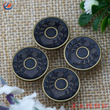 Custom cuivre antique Mens Denim Jeans Boutons de fer pour Accessoriesparts