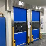 Portes à réparation automatique automatiques de PVC de vitesse pour les entrepôts industriels