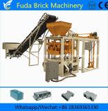 Qt4-24b manuel automatique machine à fabriquer des briques de ciment au Nigéria