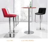 커피용 탁자를 가진 여가 바 의자를 드는 금속 높은 발
