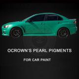 Пигмент перлы расцветки покрытия зеленой краски автомобиля автоматический