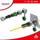 태양 장비를 위한 Cnlinko IP67 USB Plug/USB 위원회 마운트 IP67