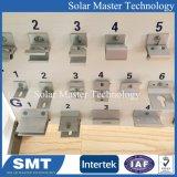 태양 전지판 지붕 설치 시스템, 금속 지붕 훅