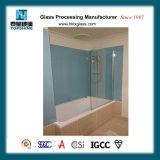 Mur en verre peint coloré de modèle de mode pour la pièce de douche