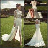 Cordão vestido de noiva mangas longas Suite vestido de casamento LD1163