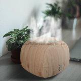 El difusor de madera más nuevo del petróleo esencial con 7 colores que cambian la luz