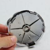 para el cromo 5pins del casquillo 68m m del centro del borde de la rueda del eje de la divisa de la insignia del emblema de BMW