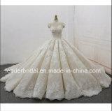 Крышка Sleeves Bridal цветков шнурка 3D мантий тучные платья 2018 венчания Z8020