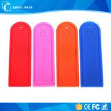 Tag RFID passif mou 915MHz de blanchisserie de fréquence ultra-haute de long terme de silicones