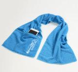 L'alta qualità su ordinazione Microfiber asciutto rapido mette in mostra il tovagliolo con la casella