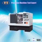 Máquinas de herramientas automáticas del torno de la precisión del CNC de la precisión del mecanismo impulsor del eje de rotación de Taiwán