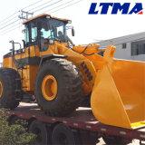 構築機械装置3トン5トン6トン7トンの車輪のローダーの価格