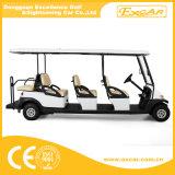 Автомобиль гольфа пассажиров Шампань 8 электрический