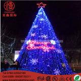 Lumière de allumage de décoration de Noël d'arbre de motif de Noël de DEL 5m