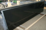 台所または浴室の/Wallののための花こう岩の石のカウンタートップの中国の黒い製造者ローディング