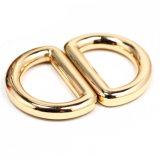La hebilla caliente del anillo en D de la aleación del cinc del metal de la venta para el bolso parte los accesorios de las mercancías del cuero de zapatos de la hebilla de correa (YK1415)