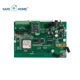 Sistema de alarma casero de ladrón del G/M del uso de la seguridad casera