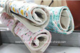 Bolso de la pluma del rodillo de la lona/cortina del lápiz de la impresión del estudiante/bolso promocional del papel del regalo