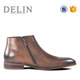 Delin мужчин новоприбывших из натуральной кожи крупного рогатого скота Hi качества обувь