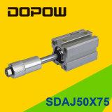 穴12mm Sdajの調節可能な空気のコンパクトなシリンダー