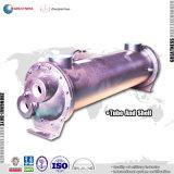 Prix de vente chaude Factory Direct Air Eau Shell et le tube échangeur de chaleur avec une longue durée de service.