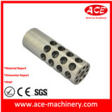 Pieza de torneado del CNC del aluminio de la maneta de la máquina