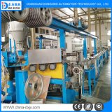 Leiter-einlagige Teflonextruder-Drahtseil-umwickelnde Maschine