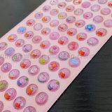Venda por grosso de cristais de diamante Rhinestone Emoji adesivo para crianças