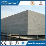 Tarjeta exterior incombustible del cemento de la fibra