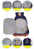 Los estudiantes de tres colores multifunción Water-Resistant Mochila Bolsa de tela Schoolbag Zh-Sbk004