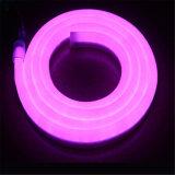 옥외 실내 훈장 220V 360 정도 16mm SMD2835 둥근 LED 네온 코드, 코드 LED 네온 밧줄 빛