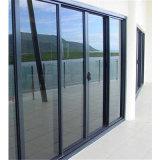 Il cancello personalizzato progetta il portello di vetro di scivolamento automatico di obbligazione di alluminio