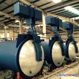Autoclave industriel de briques du chauffage de vapeur AAC avec la haute performance