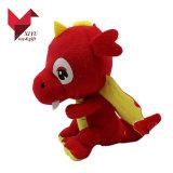 Het kleinhandels Speelgoed van de Baby van de Draak van de Pluche van de Rode Kleur Zachte