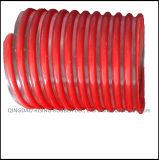 Belüftung-gewundener verstärkter Schneckenabsaugung-Einleitung-Plastikschlauch