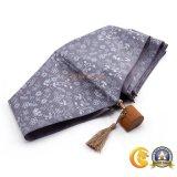 Paraguas plegable con diseño de madera único de la maneta, mini paraguas estupendo de Sun del regalo