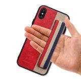 Мода на запястье Electroplating Galanz ленточный ключ телефон чехол для iPhone X