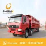 アフリカのための使用されたHOWOのダンプトラックのダンプカー12の車輪375HP 40tonsの低価格のよい状態