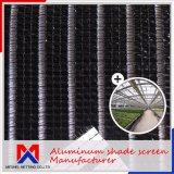Comprimento 10m~100m Clima Cortina de alumínio Sombra Net para controle de temperatura