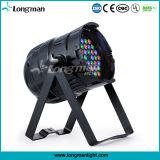 36X3w RGB DMX LED NENNWERT 64 Stadiums-Beleuchtung für Verein